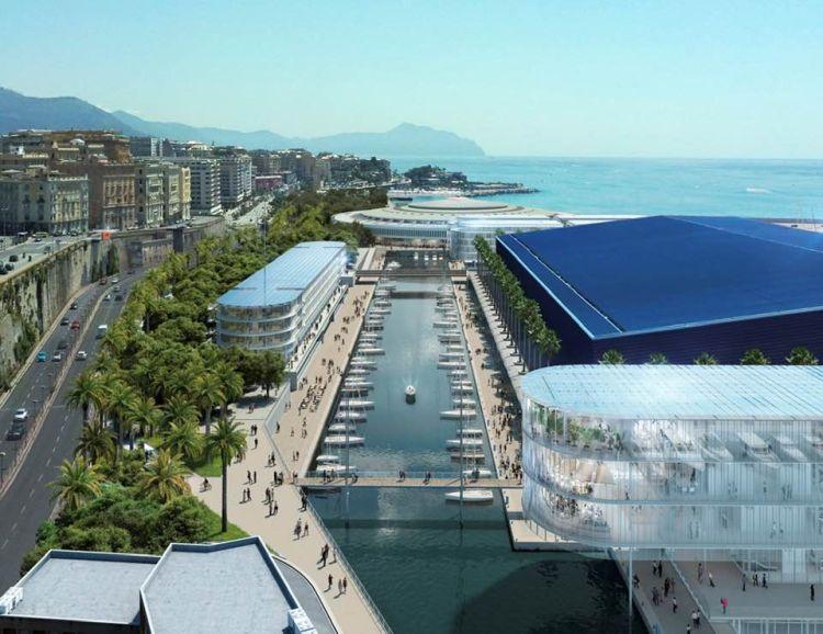 Waterfront di Levante di Genova, il nuovo canale-porto