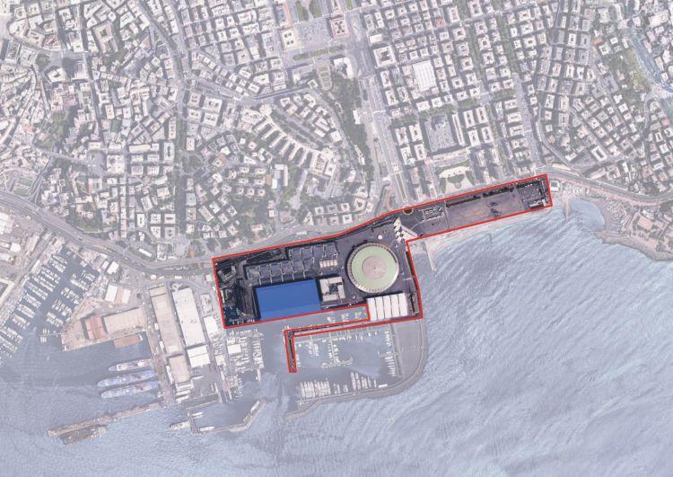 L'area di intervento del Waterfront di Levante di Genova