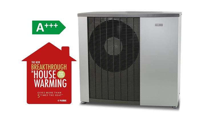 La svolta nell'efficienza energetica è NIBE F2120, la pompa di calore monoblocco