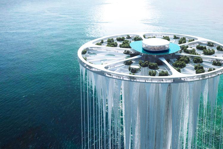 New City Center Landmark, la torre di Sou Fujimoto
