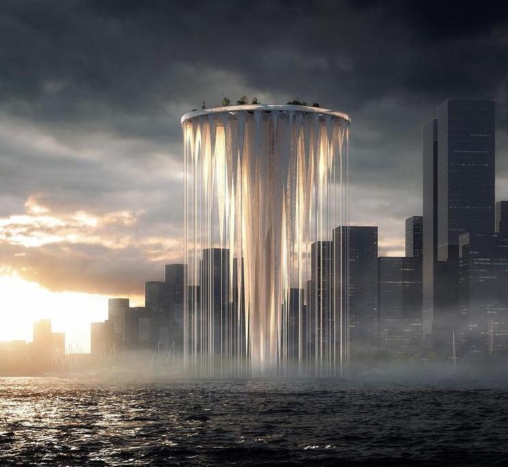 La struttura della torre di Sou Fujimoto a Shenzhen