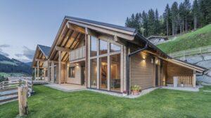 Rubner Haus realizza una residenza in bioedilizia che toglie il fiato
