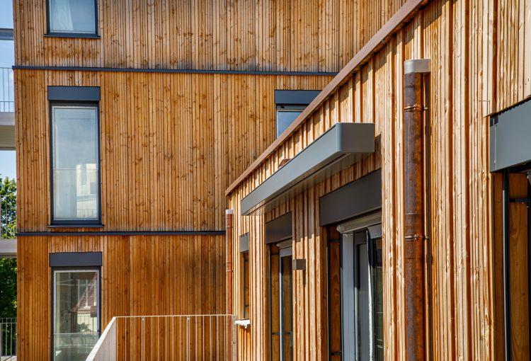 A Bayreuth in Baviera un edificio in legno firmato holzius