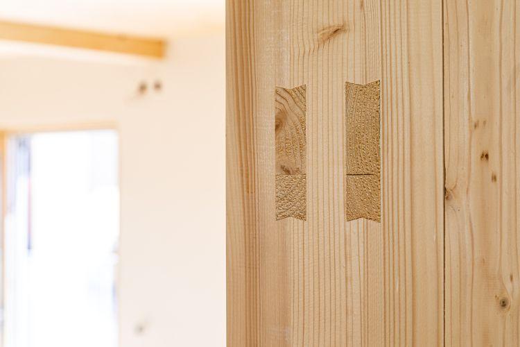 Sistema costruttivo holzius per la casa in legno di Bayreuth in Baviera
