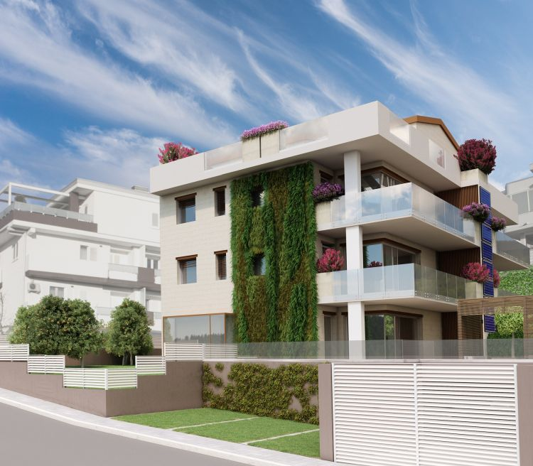 Progetto Pietra Solare a Matera: il giardino verticale