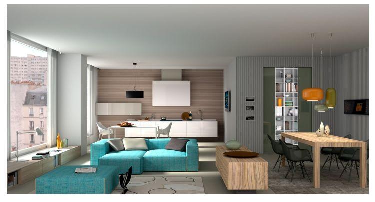 Uno degli appartamenti del progetto Pietra Solare di Matera