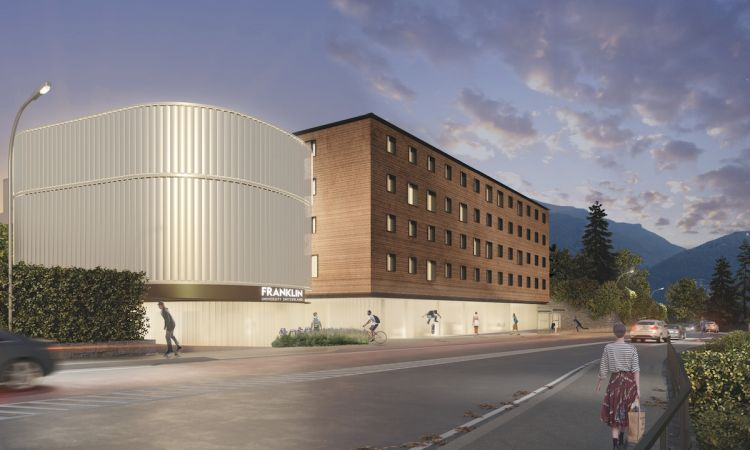 Nuovo campus Franklin University Switzerland