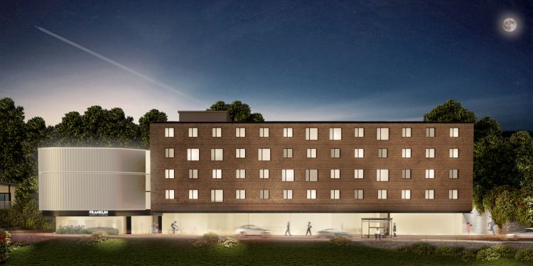 Un sistema fotovoltaico unico per il nuovo campus Franklin University Switzerland