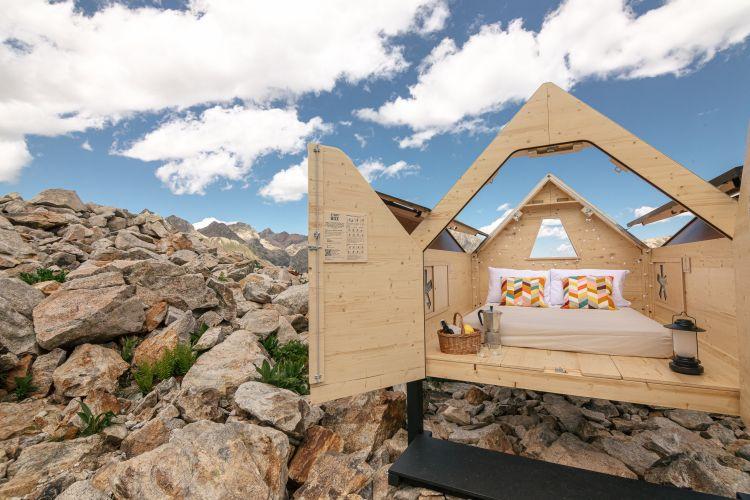 Starsbox, la mini house dal tetto apribile