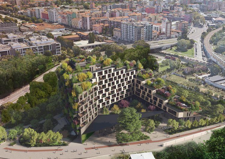 Milano, la corte verde di Boeri