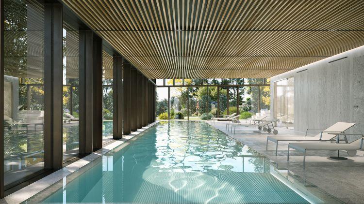 Bosconavigli, la piscina