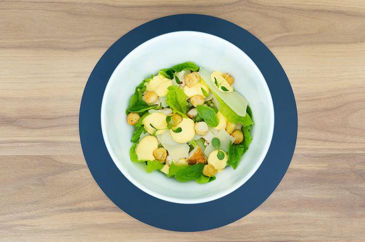 Uno dei piatti proposti dallo chef Enzo Pettè nel ristorante nel Life Source di Bergamo