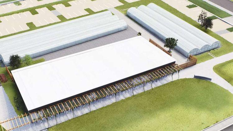 Sistema di copertura vetrata solare fotovoltaica brevettata dell'azienda ClearVue Technologies