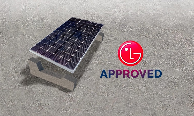 LG sceglie i sistemi di fissaggio Sun Ballast per il fotovoltaico