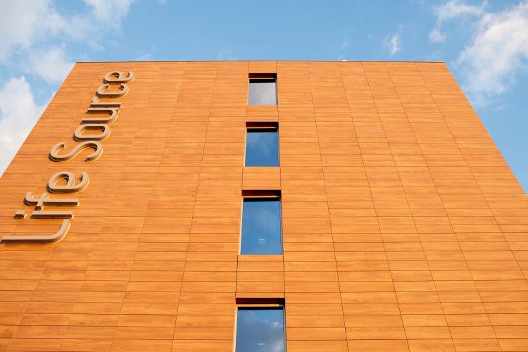 L'hotel LIFE Source a Bergamo è dotato di facciata ventilata