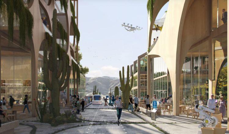 Telosa, città del futuro attenta alla mobilità sostenibile