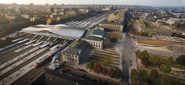 Il volto nuovo dell'hub ferroviario di Vilnius