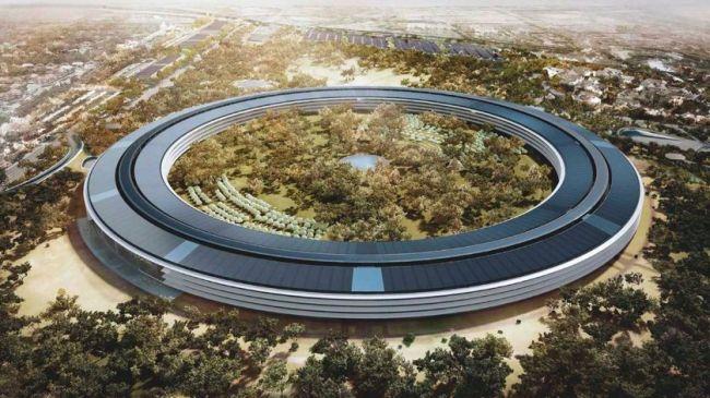 Apple Park progetto di Foster + Partners