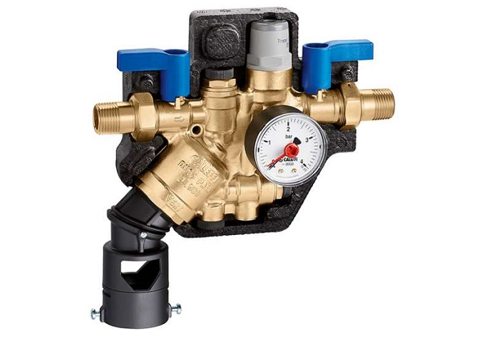 Protezione della rete idrica con il gruppo automatico 580011