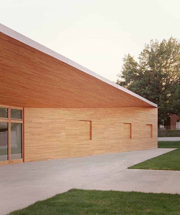 A Cuneo un progetto di scuola nZEB con facciata in legno