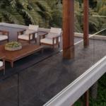 Sistemi per balconi in alluminio e in vetro